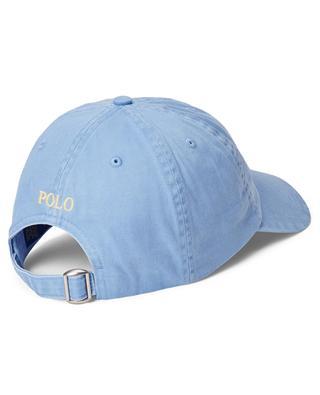 Pony faded chino cotton baseball cap POLO RALPH LAUREN