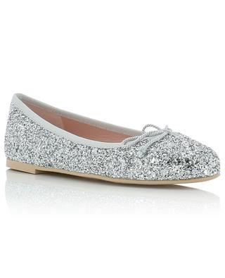 Marylin almond tip glitter ballet flats PRETTY BALLERINAS