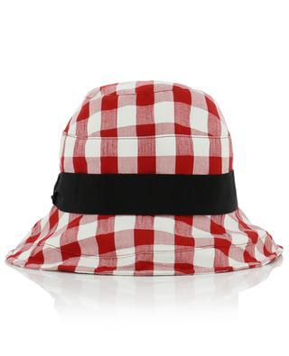 Karierter Hut aus Baumwollmix GI'N'GI