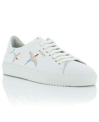 Clean 90 Bird embroidered leather sneakers AXEL ARIGATO