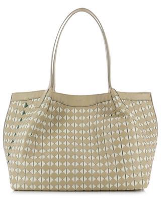 Secret Mosaico Small woven nappa leather tote bag SERAPIAN MILANO