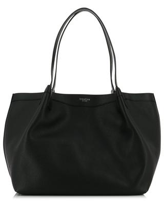 Secret Small grained leather tote bag SERAPIAN MILANO