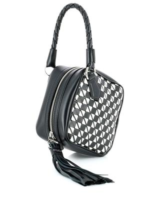 Petra diamond shaped mosaic leather handbag SERAPIAN MILANO