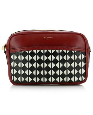 Camera Mosaico Mini nappa leather handbag with weaving detail SERAPIAN MILANO