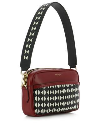 Handtasche aus Nappaleder mit Web-Detail Camera Mosaico Mini SERAPIAN MILANO