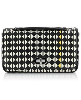 Mosaico Small woven leather shoulder bag SERAPIAN MILANO
