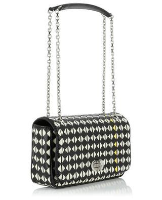 Schultertasche aus gewebtem Leder Mosaico Small SERAPIAN MILANO