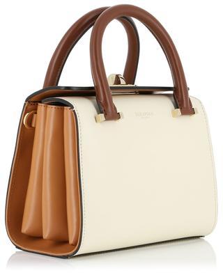 Handtasche aus Glattleder Mini Villa SERAPIAN MILANO