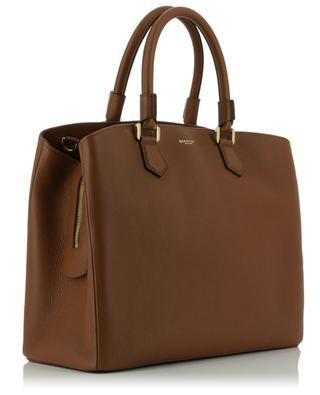 Handtasche aus genarbtem Leder Luna SERAPIAN MILANO