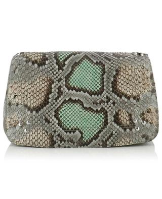 Bobi leather and python shoulder bag JEROME DREYFUSS