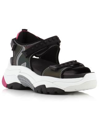 Adapt iridescent hiking spirit flat sneaker sandals ASH