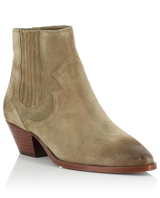 Falcon leather ankle boots ASH