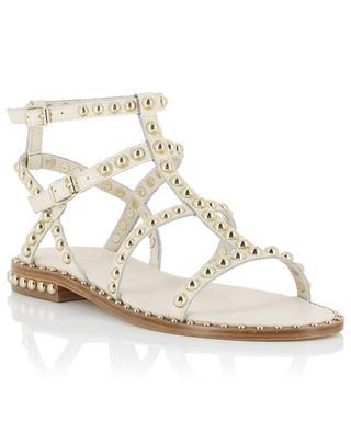 Precious leather gladiator sandals ASH