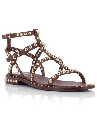 Precious leather gladiator sandals ASH