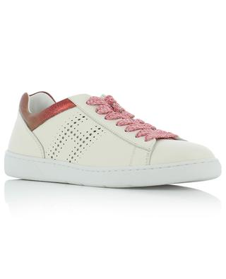 R327 perforated leather sneakers HOGAN