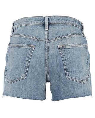 Mini short en jean délavé Le Brigette Short FRAME