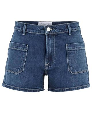 Mini short en jean Le Bardot Short FRAME