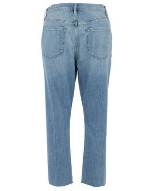Verküzte, ausgewaschene Jeans mit Rissen Le Beau Crop FRAME