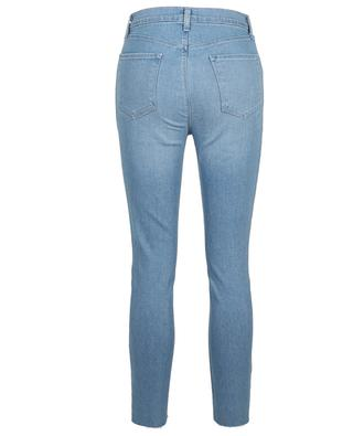 Lillie Cloudy button-down high-rise skinny fit jeans J BRAND