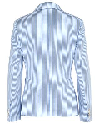 Striped viscose blend blazer ERMANNO SCERVINO