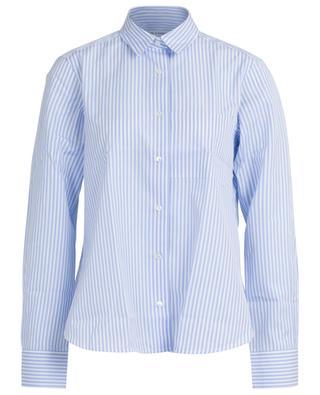 Lenon striped A-line cotton shirt LIS LAREIDA