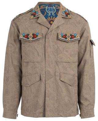 Cotton blend saharian jacket ETRO