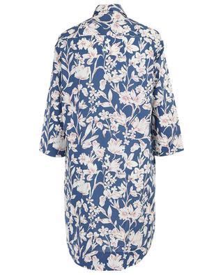 Elke floral poplin shirt dress ARTIGIANO