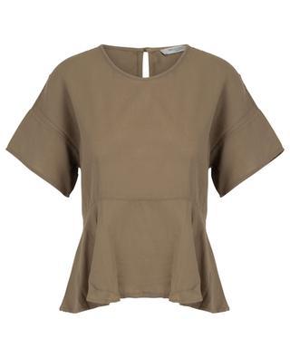 Cara cotton short-sleeved top ARTIGIANO