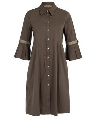 Hemdkleid mit ausgestellten 3/4-Ärmeln LA CAMICIA