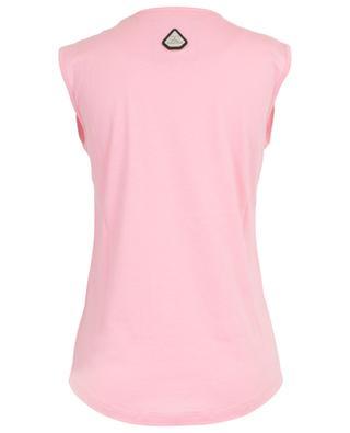 Ärmelloses Top aus Baumwolle und Modal Rosé all day QUANTUM COURAGE