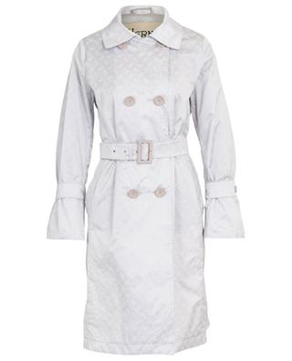 Trench satiné avec monogramme HERNO
