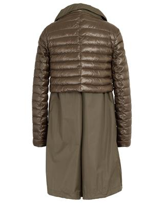 Three-quarter length jacket with a layered effect HERNO
