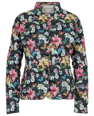 Light floral print down jacket JAN MAYEN