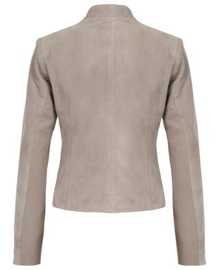 Water repellent leather jacket ARMA