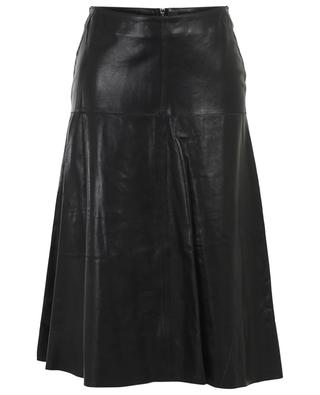 Elke leather A-line skirt ARMA