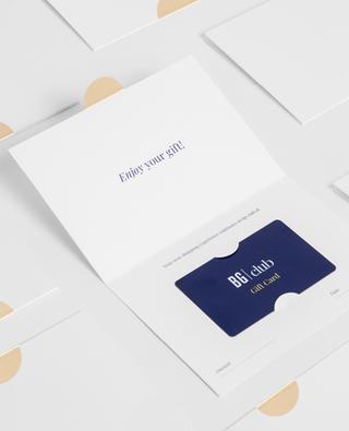 Carte Cadeau E-commerce Physique BONGENIE GRIEDER
