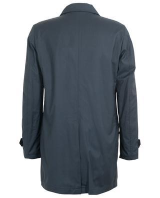 Vittor - Go virgin wool and silk raincoat MOORER