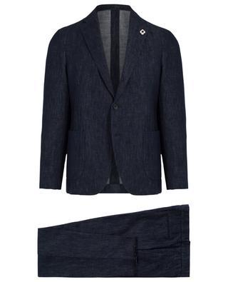 Linen and cotton blend suit LARDINI