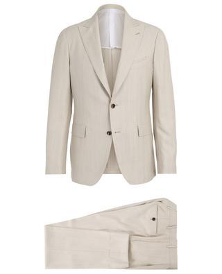 Anzug aus Wolle mit Fischgrätenmuster LARDINI