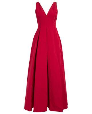 Long flared sleeveless dress TWINSET