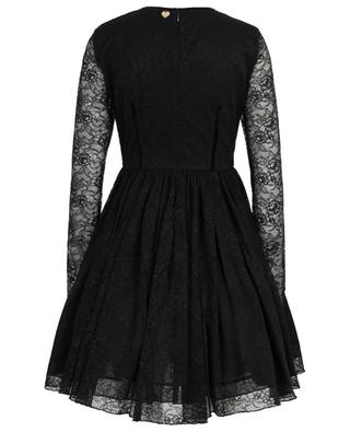 Short lace dress with crystals and petticoat TWINSET