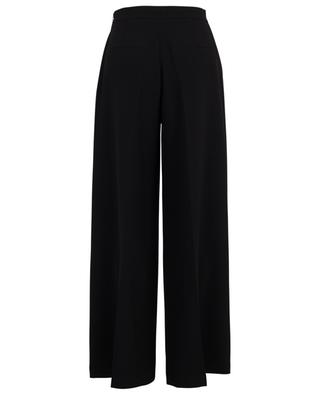 High-rise wide-leg trousers in fluid crepe TWINSET
