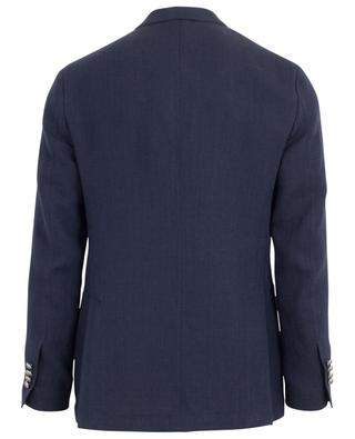 Double-breasted linen suit LARDINI