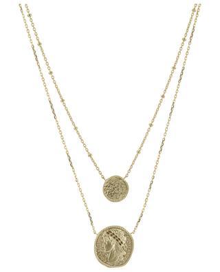 Cléopâtre double golde necklace COLLECTION CONSTANCE