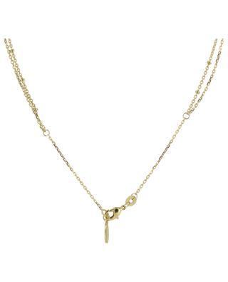 Zweisträngige goldene Kette Cléopâtre COLLECTION CONSTANCE