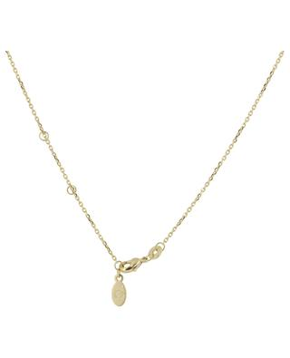 Helene gold plated neckace with rose quartz COLLECTION CONSTANCE