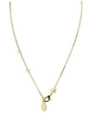 Vergoldete Halskette mit grünem Achat Helene COLLECTION CONSTANCE