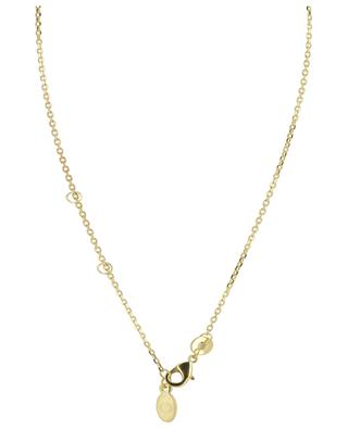 Helene gold plated neckace with green agate COLLECTION CONSTANCE