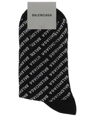 Strümpfe aus Baumwollmix mit Logoprint BALENCIAGA