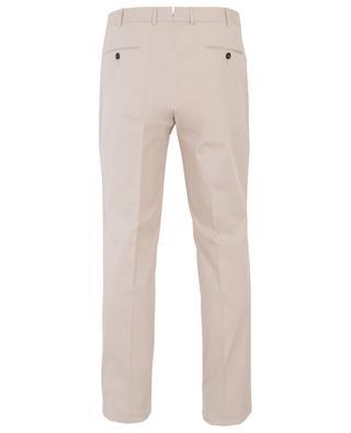 Pantalon slim en gabardine de coton prémium ERMENEGILDO ZEGNA